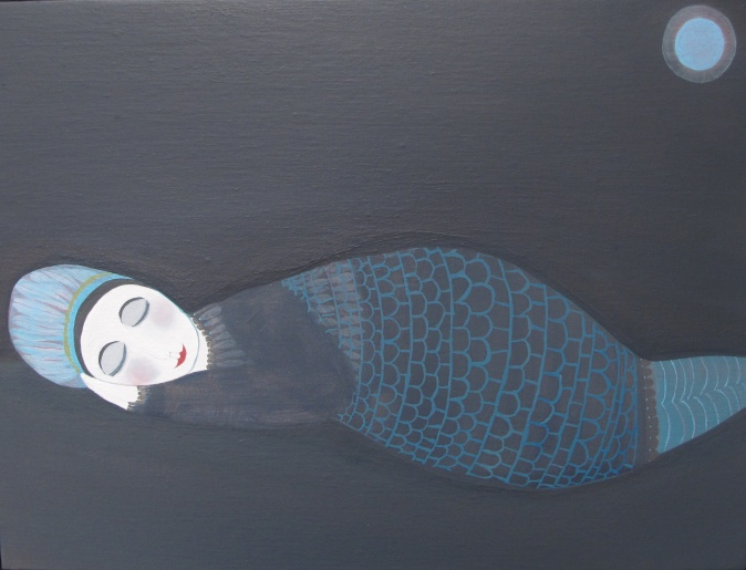 Do Not Disturb - Oil On Canvas 40 x 30 cms 2015