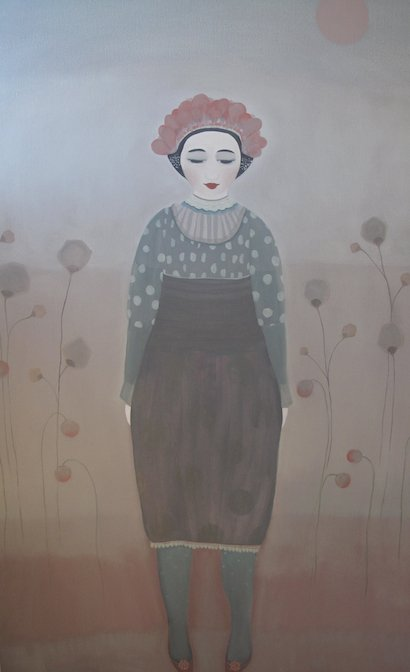 Elsa - Oil On Canvas 140x90cm SOLD