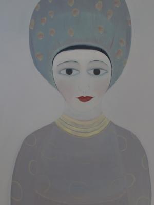 Eva - Oil On Canvas 64 x64 cms 2015