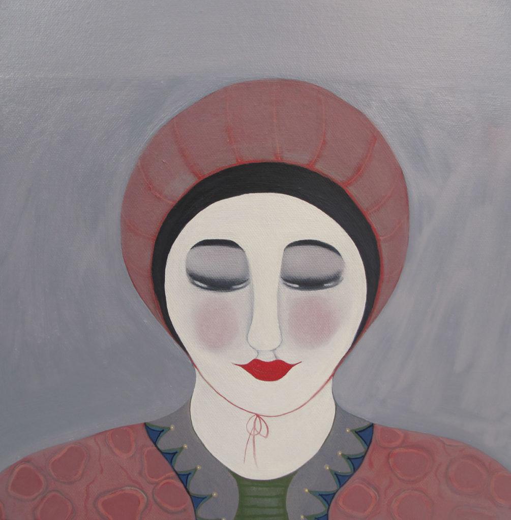 Return - Oil On Canvas 40 x 40cms