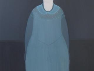Return To The Blue Garden - Oil On Canvas 140cm x 90cms
