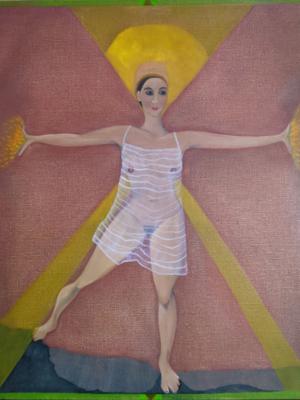 oil on canvas 2021 50 x 60cms